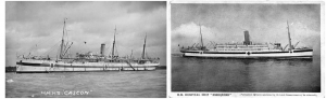 Hospital Ships Gascon and Essequibo