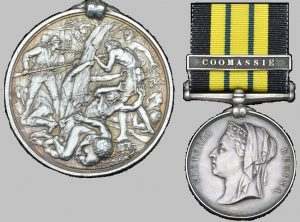 The Ashantee Medal with Coomassie clasp