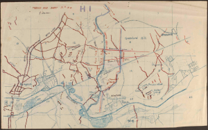 Map of the battlefield
