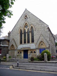 The former Cliftonville Congregational Church